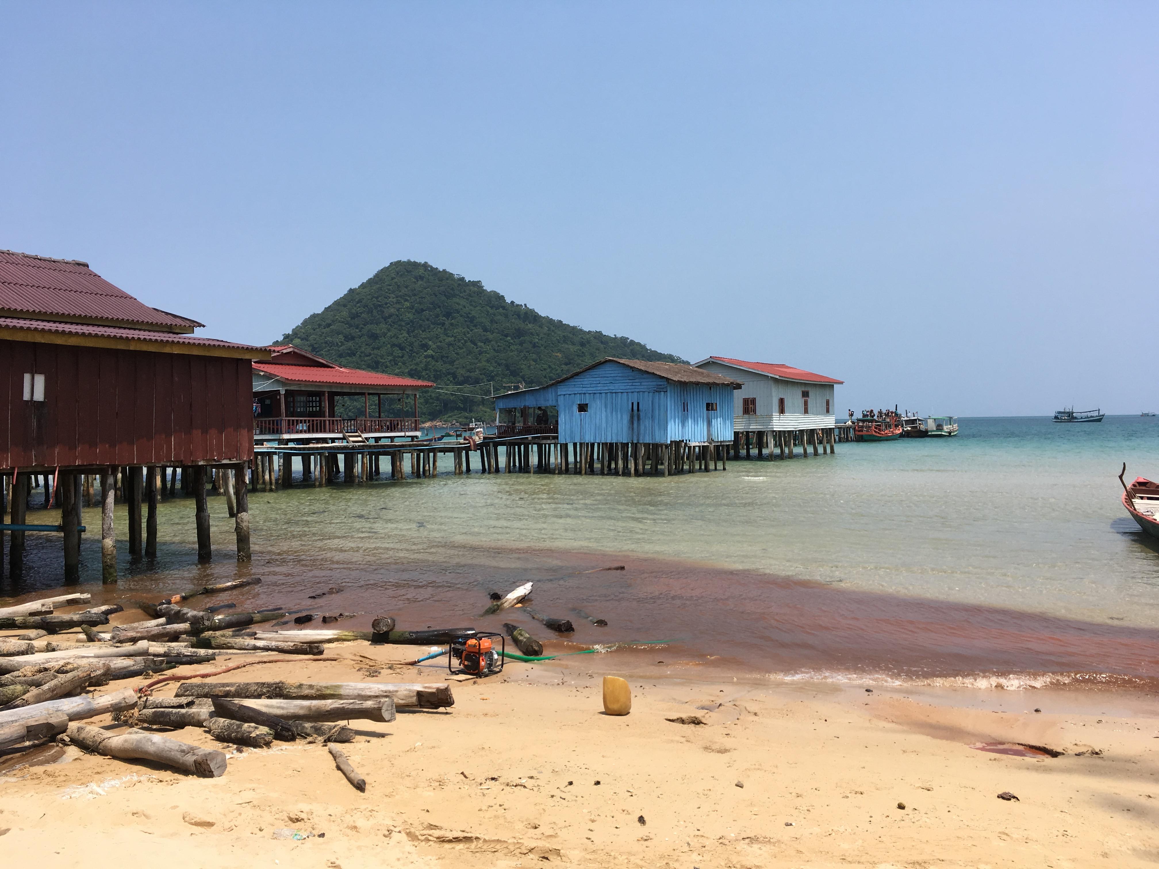 カンボジアの秘境!プノンペンからロンサレム島への行き方まとめます!